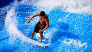 Искусственная волна на Пхукете