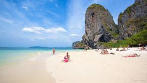 Пляж Прананг (Phra Nang Beach) в Краби