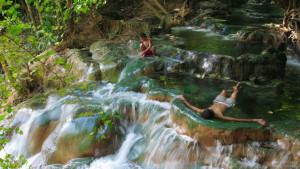 Водопад Клонг Том в Краби