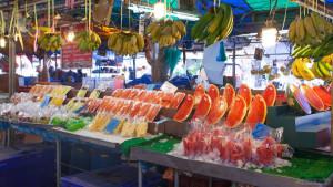 Утрений рынок Махарат в Краби