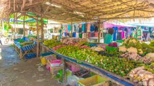 Передвижной рынок на острове Ланта