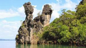 Остров Талабенг возле Ланты