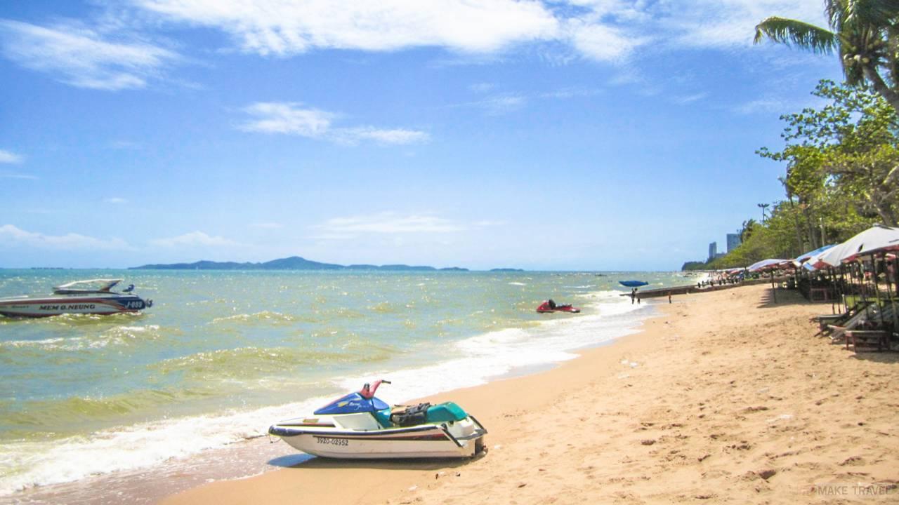 пляж джомтьен паттайя фото песка камней также