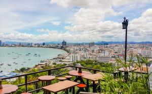 Кафе Coffee Break на смотровой площадке Паттайя Хилл (Pattaya Hill)