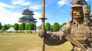 Парк трёх королевств в Паттайе