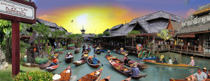 Плавучий рынок (Pattaya Floating market) в Паттайе