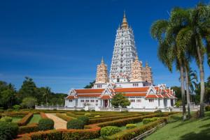 Храмово-парковый комплекс Ват Ян в Паттайе
