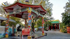 Даосский храм Ват Ванг Сам Сиен в Паттайе