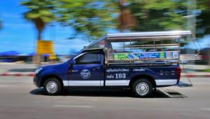 Общественный транспорт в Паттайе