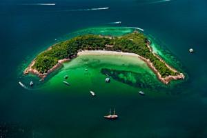 Коралловый остров Ко Сак (Koh Sak) в Паттайе