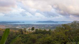 Смотровая площадка Пхукета на холме с радаром (Radar Hill Viewpoint)