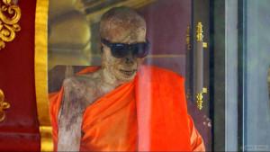 Храм Ват Кхунарам (Wat Khunaram) на Самуи с мумифицированным монахом