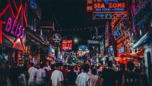Улица ночных развлечений Walking Street Pattaya