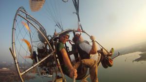 Полет на параплане и дельтаплане в Паттайе