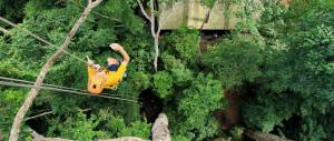 Полет Тарзана в Паттайе (Tree Top Adventure park)