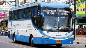 Автостанция у Фудмарта Паттайя-Суварнабхуми