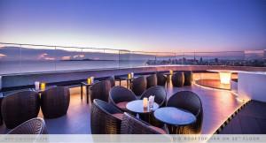 Бар-ресторан на крыше D'Varee Inspiration Sky Bar в Паттайе