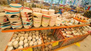 Крытый рынок товаров для дома в Паттайе