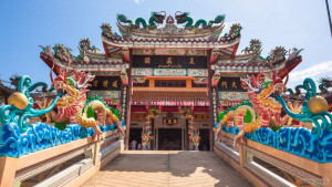 Даосский храм Тха Рыа на Пхукете